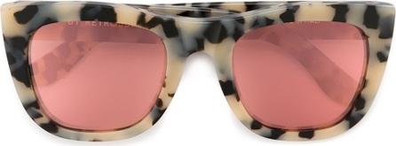 RetroSuperFuture 'Gals Gel' animal print cat eye sunglasses