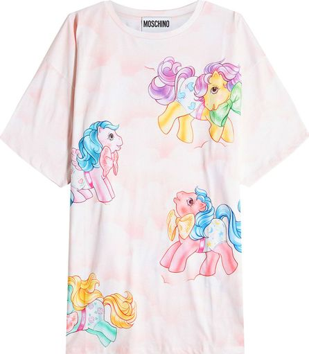 Moschino Little Pony Printed Cotton T-Shirt