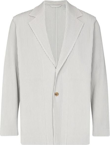Homme Plissé Issey Miyake Plissé pleated blazer jacket