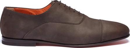Santoni Toe cap leather Oxfords