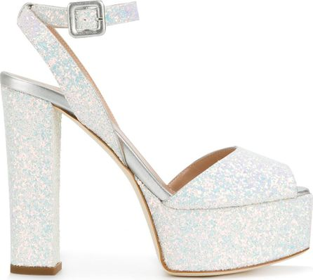 Giuseppe Zanotti Betty Glitter platform sandals