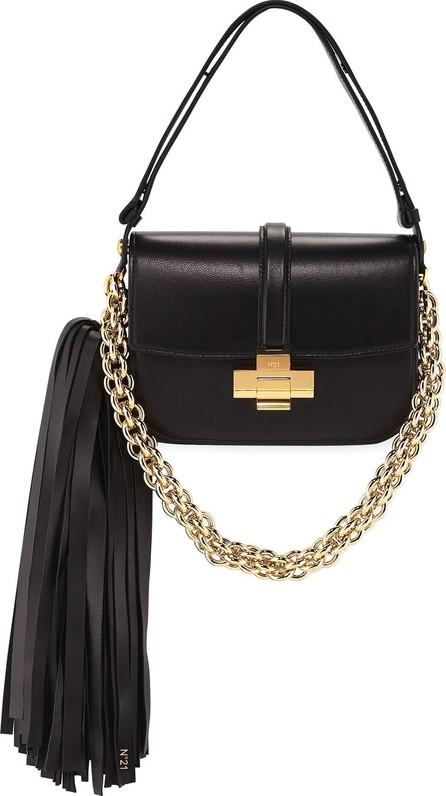 Nº21 Pompom Chain Shoulder Bag