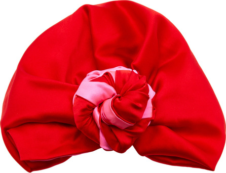 Julia Clancey Edith Silk-Charmeuse Turban