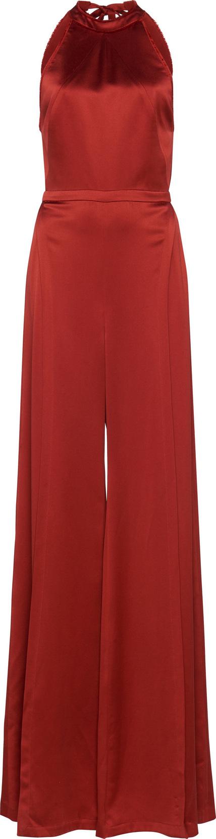 Alexis Sanaya Wide-Leg Silk Jumpsuit