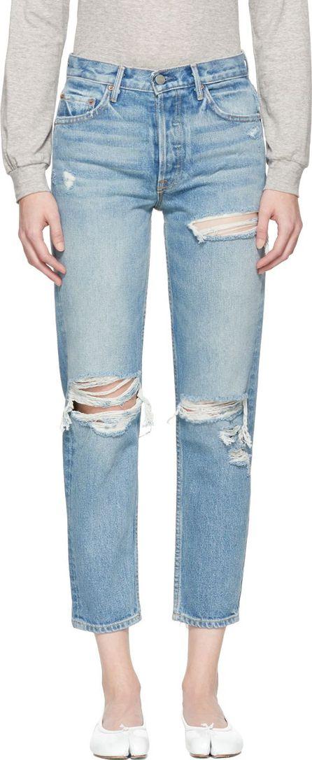 Grlfrnd Blue Helena Long Jeans