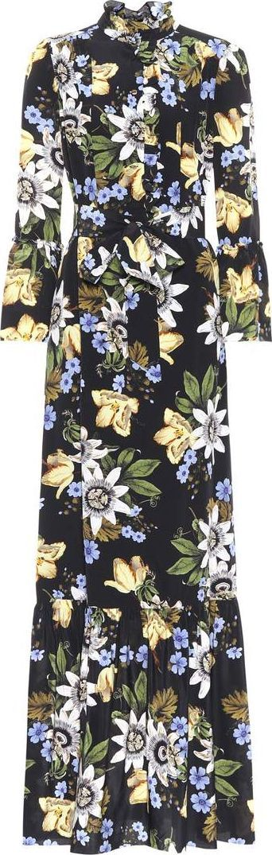 Erdem Stephanie floral-printed silk dress