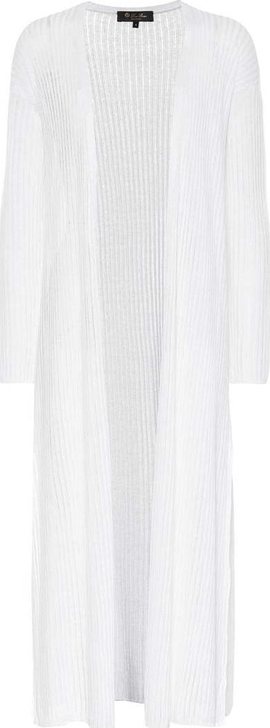 Loro Piana Linen and silk cardigan