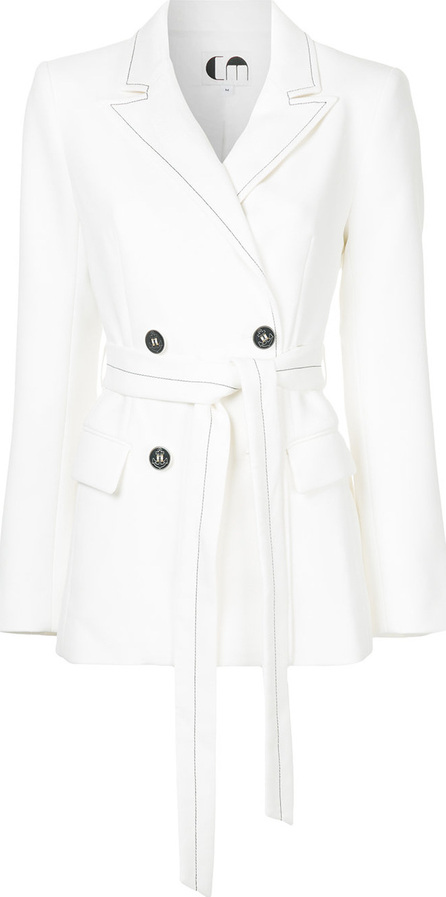 Comme Moi Contrast stitching blazer