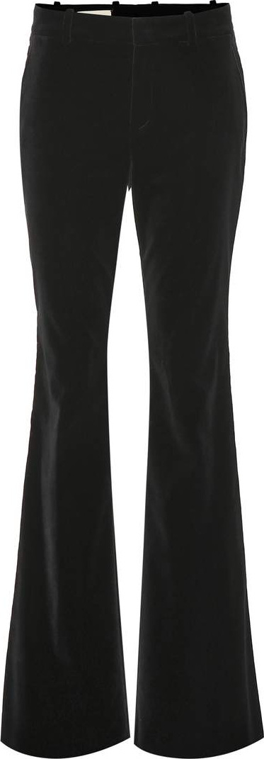 Gucci Velvet flared pants