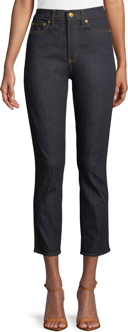 Tory Burch Rebecca Stretch Denim Jeans