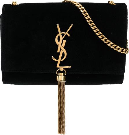Saint Laurent Small Kate Monogram velvet bag