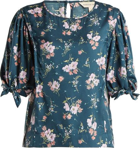 Rebecca Taylor Emilia floral-print silk-twill top