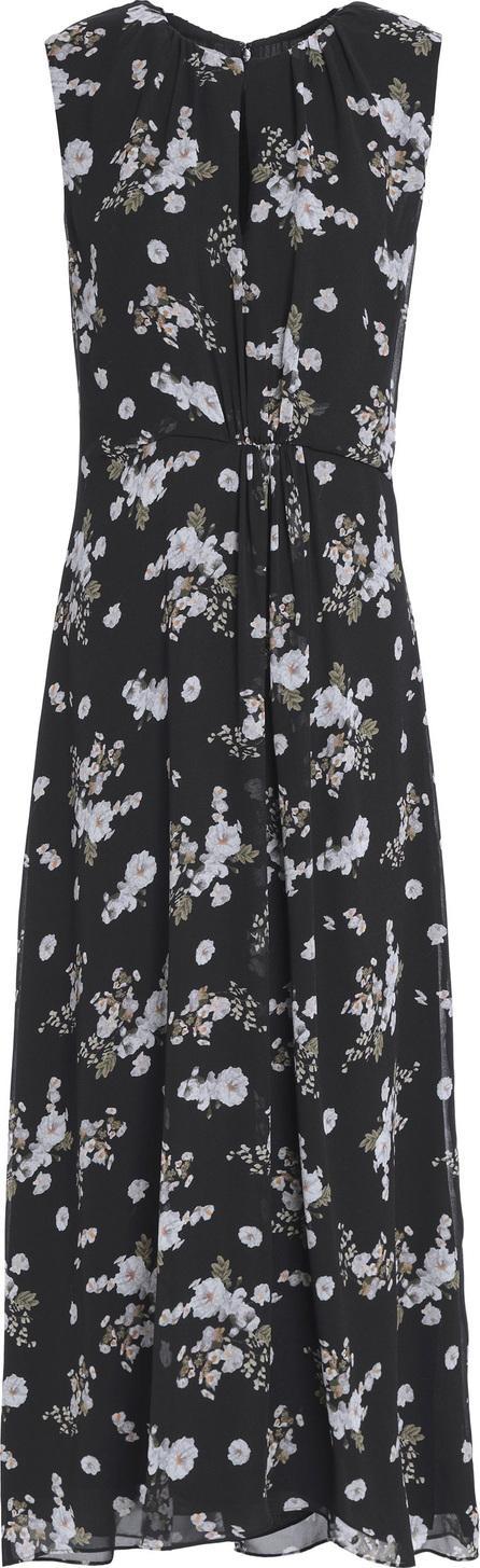 Vince Pleated floral-print silk-georgette maxi dress