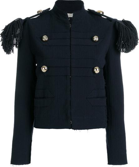 Fringed epaulette jacket
