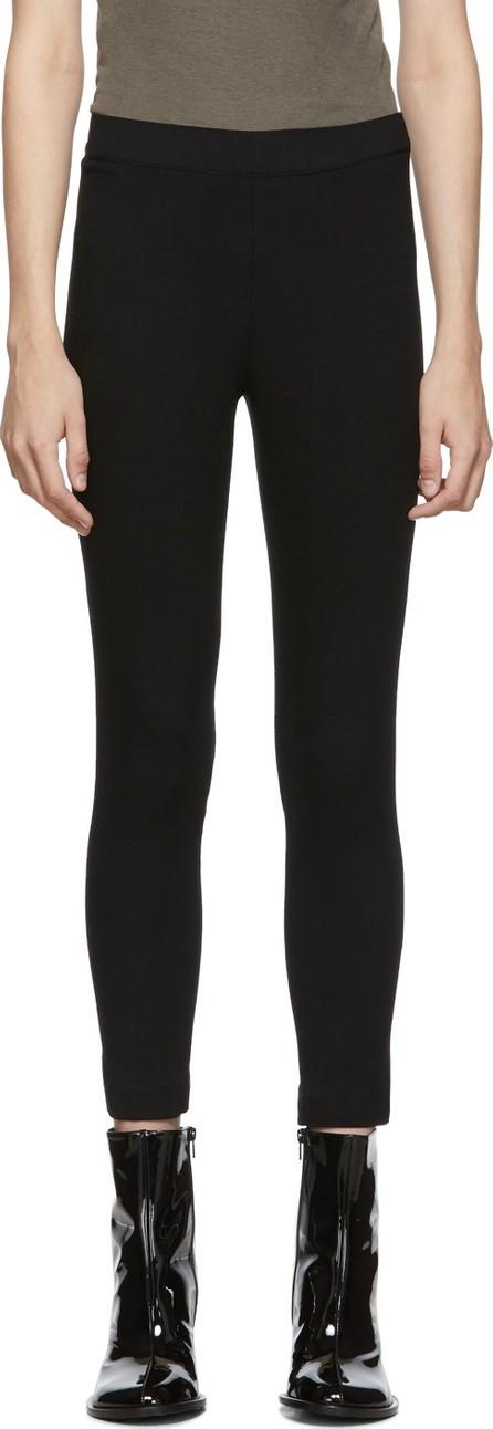 Ann Demeulemeester Black Trouser Leggings