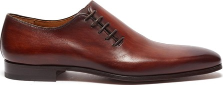 MAGNANNI Lace up wholecut leather oxford shoes