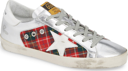 Golden Goose Deluxe Brand Superstar Plaid Sneaker