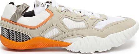 Acne Studios 'Berun' chunky outsole suede panel mesh sneakers