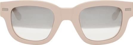 Acne Studios Pink Frame Metal Sunglasses