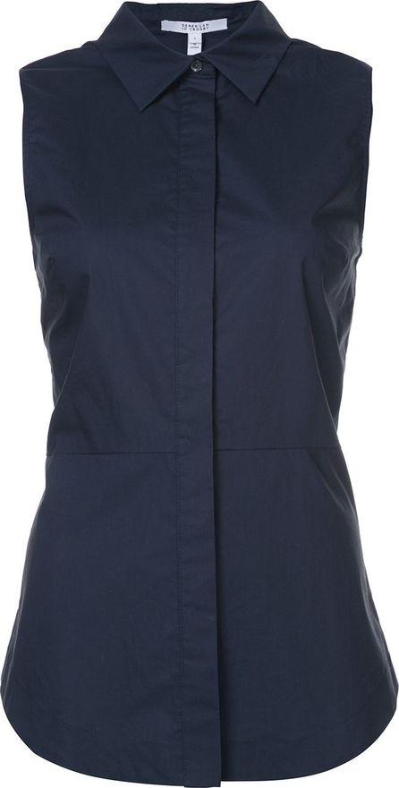 Derek Lam 10 Crosby Sleeveless button-down shirt