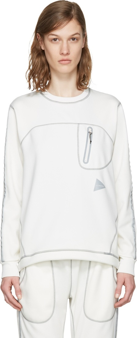 and Wander Off-White Ponte Pullover