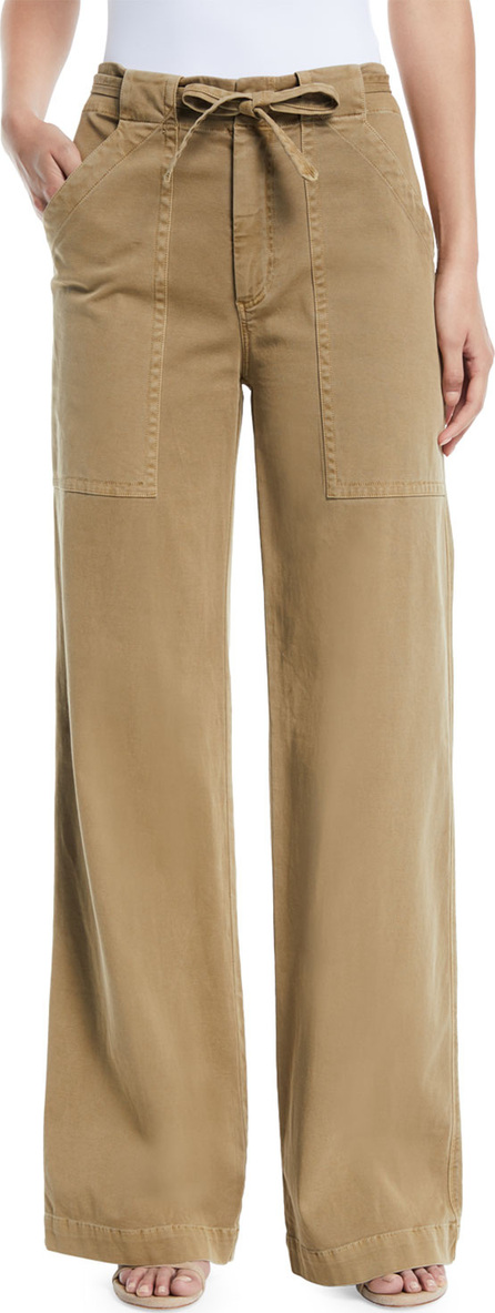 A.L.C. Carver Belted Wide-Leg Pants