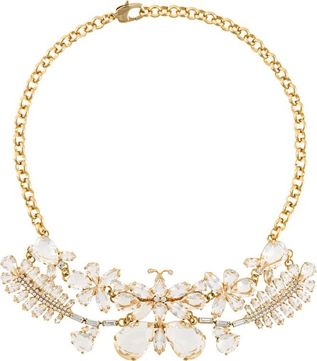 Ermanno Scervino butterfly stones necklace