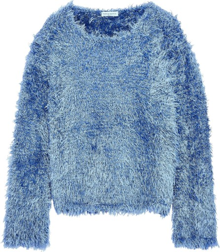 Mansur Gavriel Frayed silk sweater