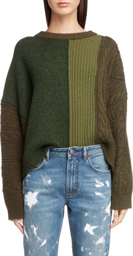 Acne Studios Vertical Stripe Wool Sweater