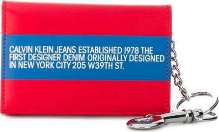 Calvin Klein Jeans Logo print wallet
