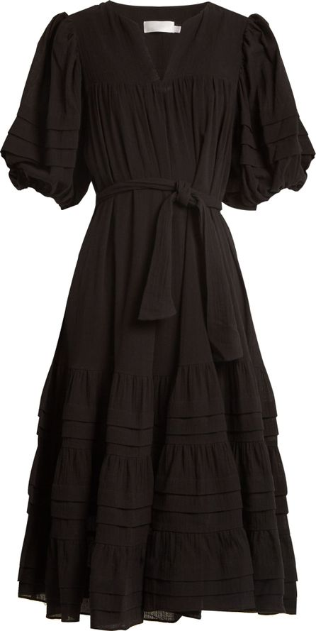Zimmermann Prima belted cotton dress
