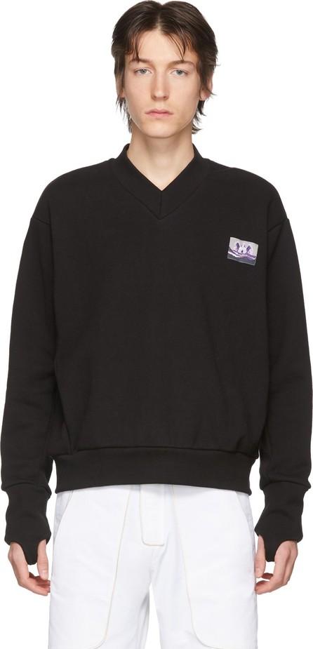 Boramy Viguier Black V-Neck Sweater