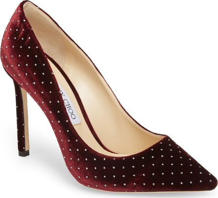 Jimmy Choo Romy Crystal Studded Pump