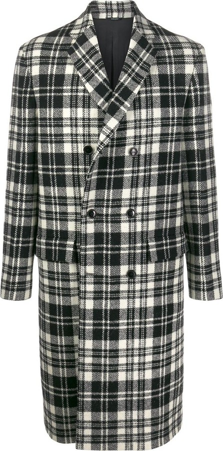 Oamc Boxy fit checked coat