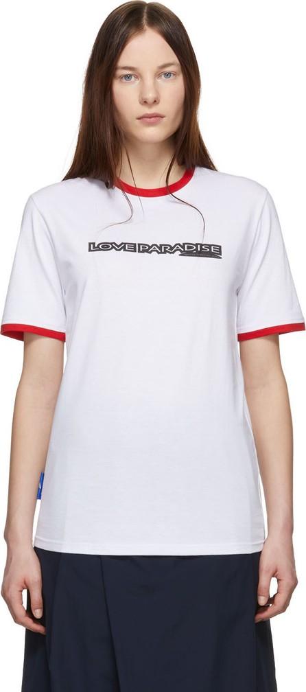 Anton Belinskiy White 'Love Paradise' T-Shirt