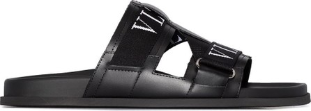 Valentino Garavani VLTN leather slides