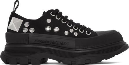 Alexander McQueen Black Studded Sneakers
