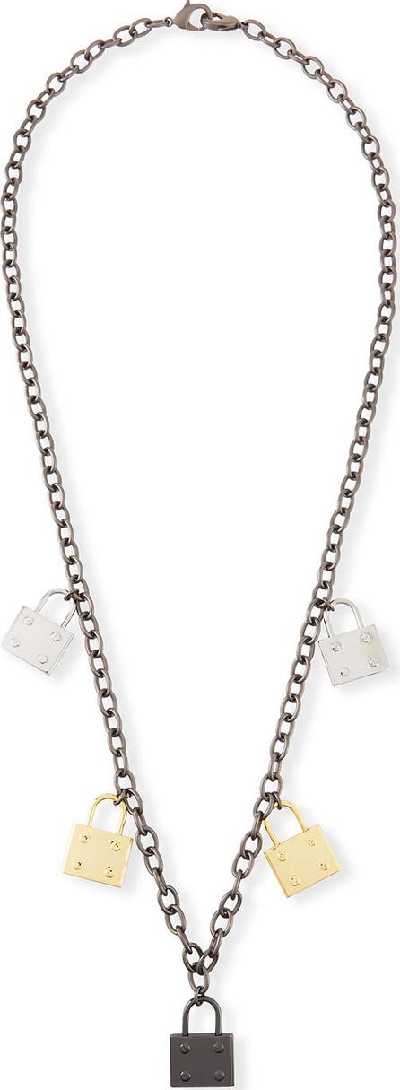 Hipchik Couture Elle Multi-Lock Pendant Necklace