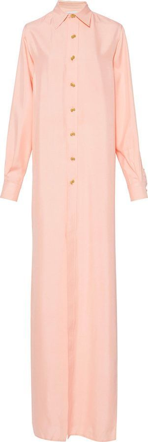 Rebecca de Ravenel The Ming Shirt in Pale Pink