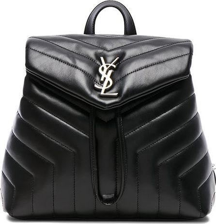 Saint Laurent Small Supple Monogramme Loulou Backpack