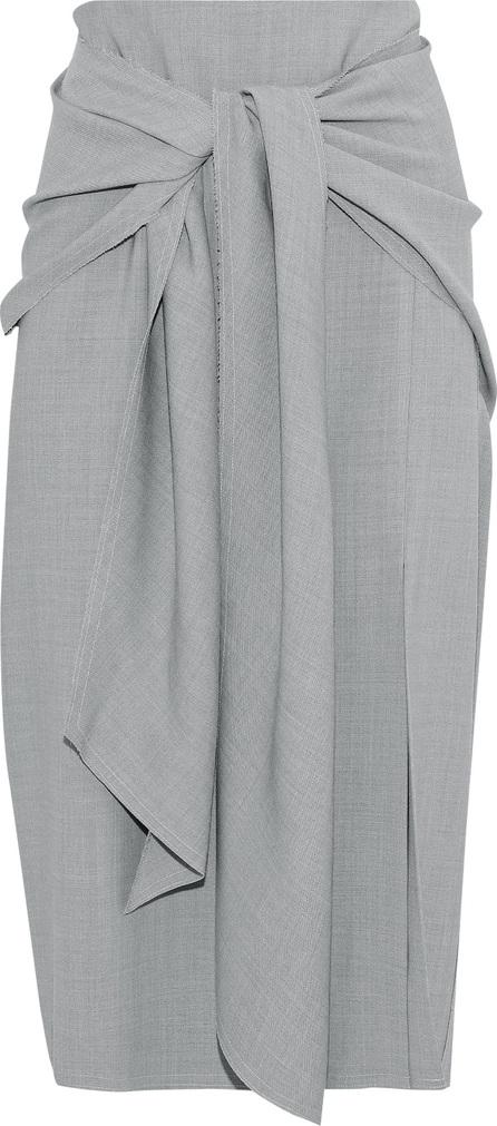 Jason Wu Tie-front woven skirt