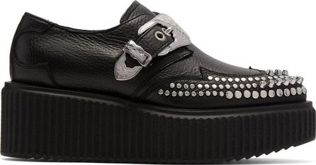 McQ - Alexander McQueen Black Nevada Creeper Monkstraps