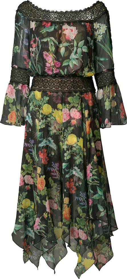 Tadashi Shoji floral print dress