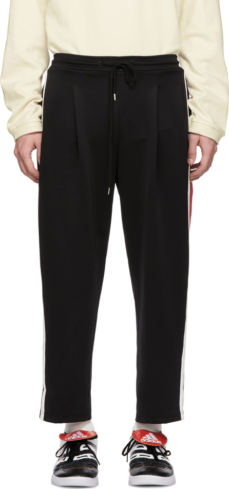 ADER error Black Line Track Pants