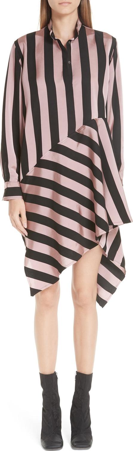 Marques'Almeida Marques'Almeida Stripe Asymmetrical Shirtdress