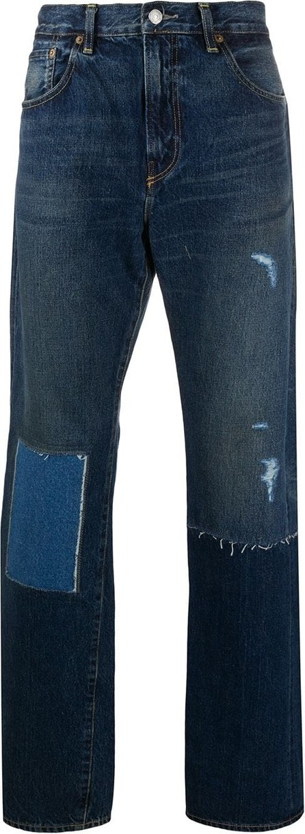Junya Watanabe MAN X Levi's patchwork straight-leg jeans