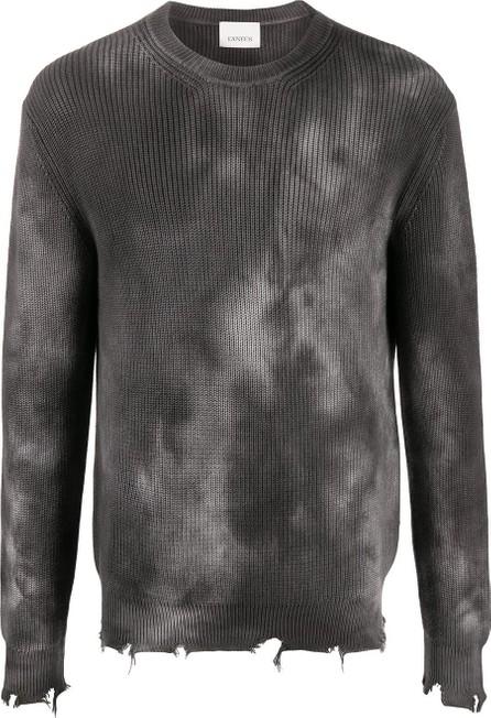 Laneus Tie-dye cotton jumper