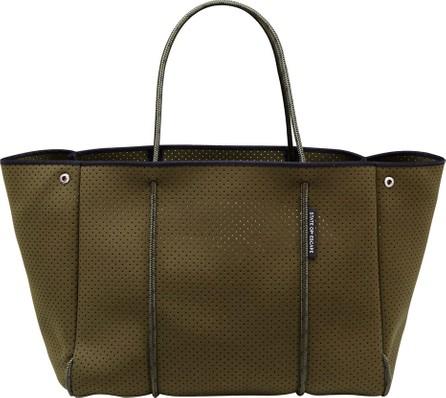 State of Escape Escape Perforated Tote Bag, Khaki