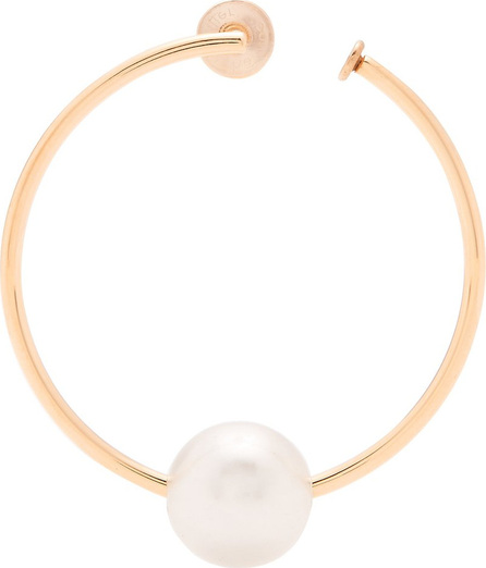 Hillier Bartley Faux-pearl hoop single earring Z5kQqLwm