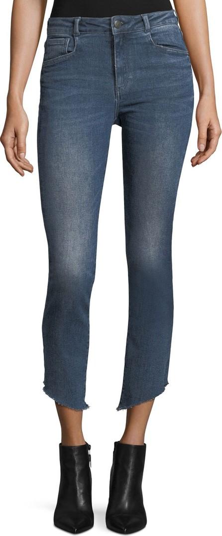 Acynetic Loren Mid-Rise Cigarette-Leg Jeans
